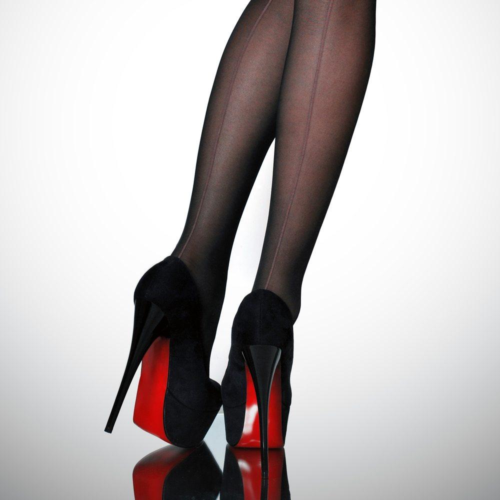 High Heels Strumpfhose