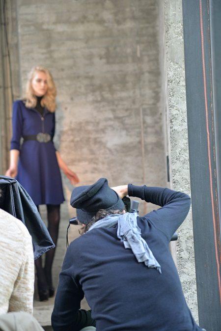 making of hinter dem fotografen