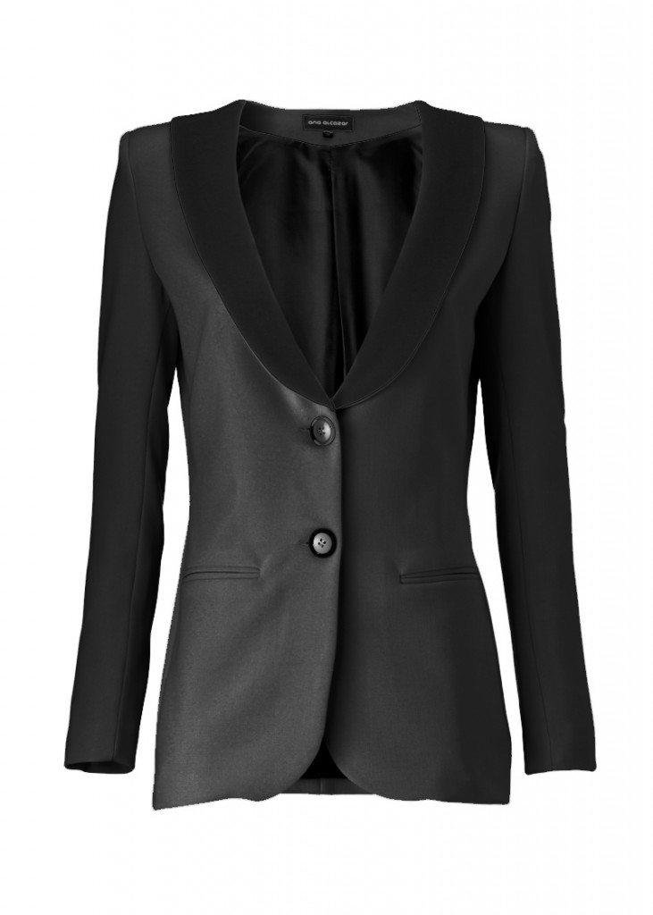 Blazer schwarz jumpsuit