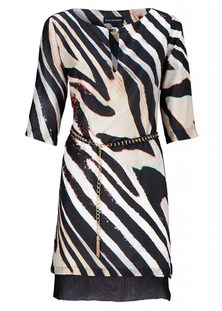 zebra kleid ana