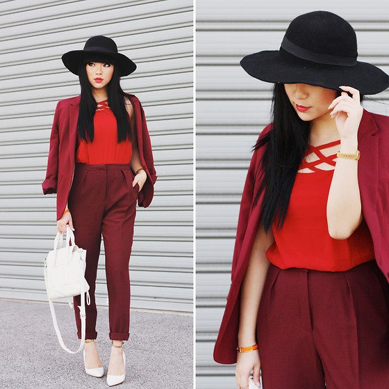 all red how to style