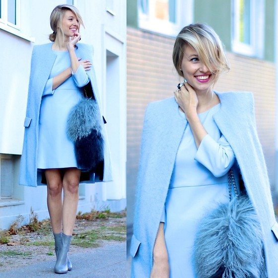 all blue how to style