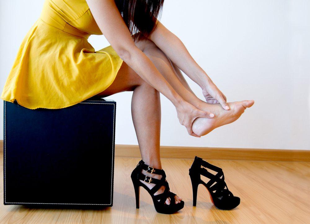 high heels gelpolster