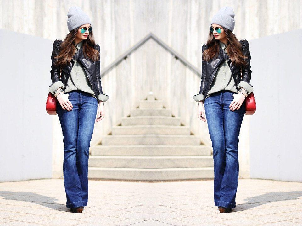 flared jeans anni lässig