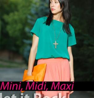 Modetrend 2013 - Röcke