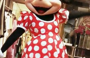 Minnie Mouse als Fashionqueen