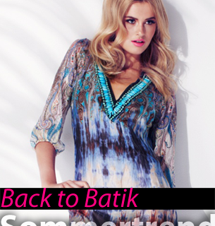 Batik - Sommertrend 2013