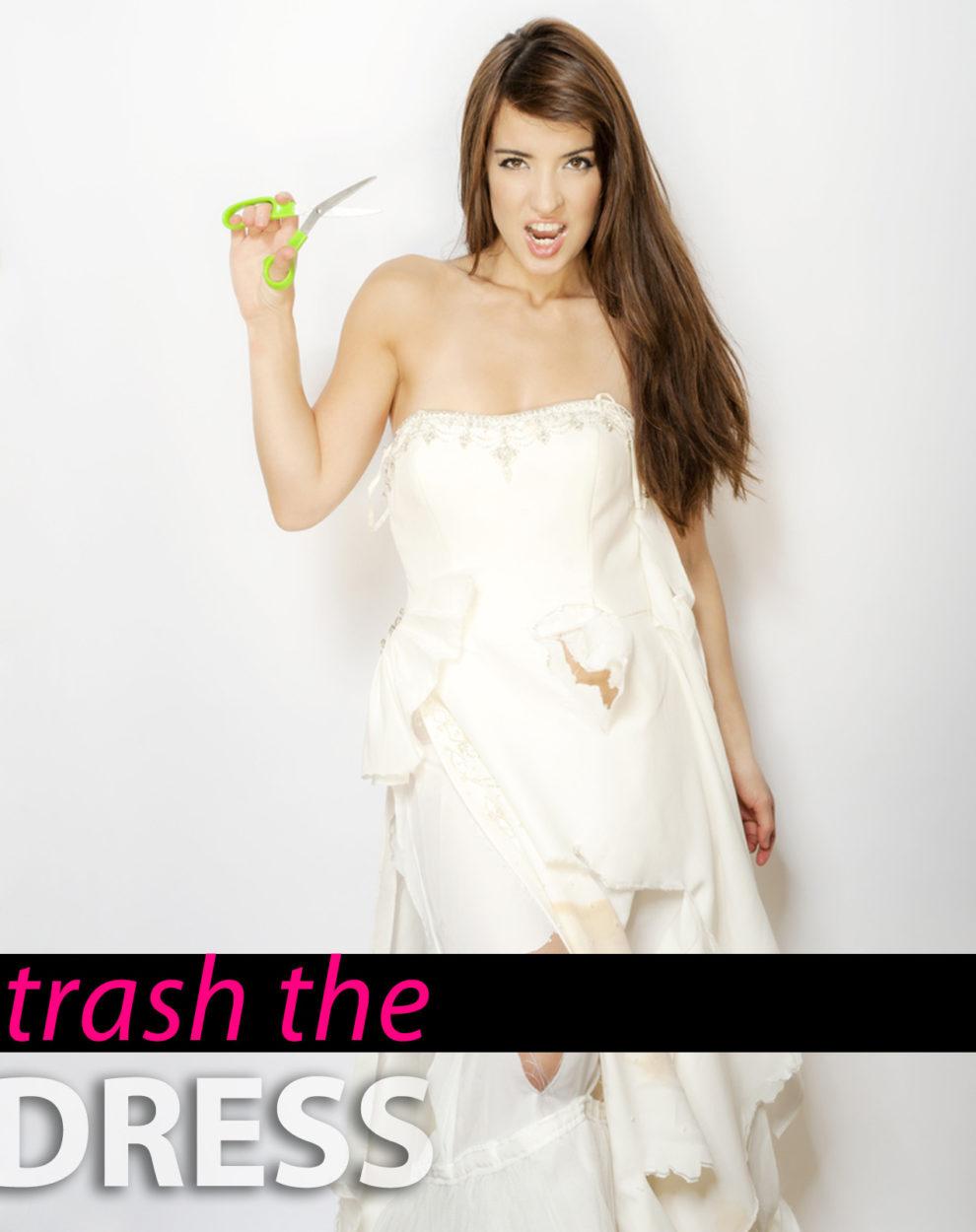 Trash the dress! So wirst du dein Brautkleid mit Stil los | Ana ...