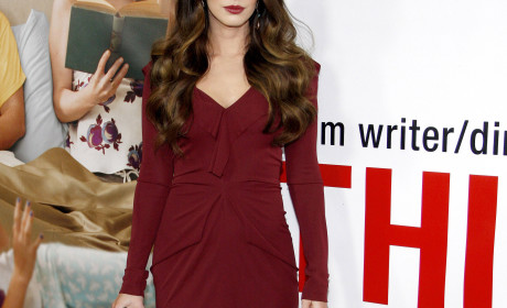 Megan Fox Rotes Kleid