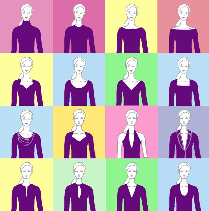 Kleid ausschnitt typen