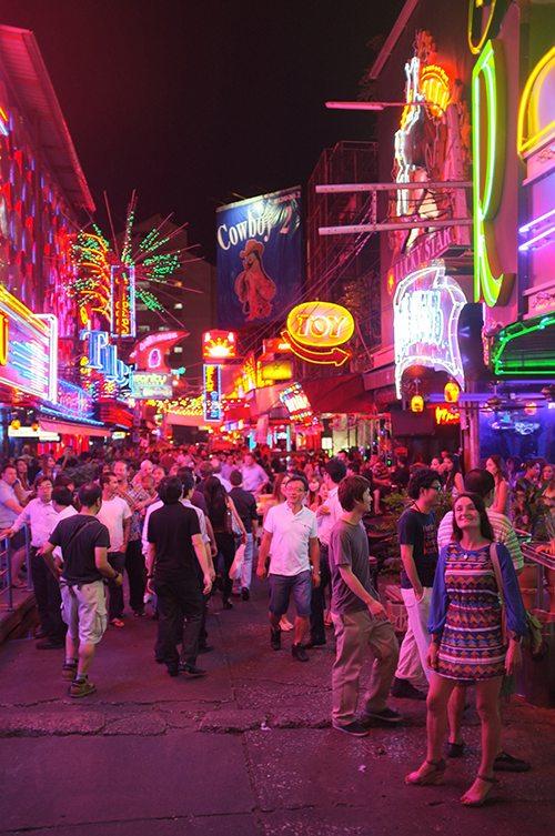 Rotlichtviertel-Bangkok
