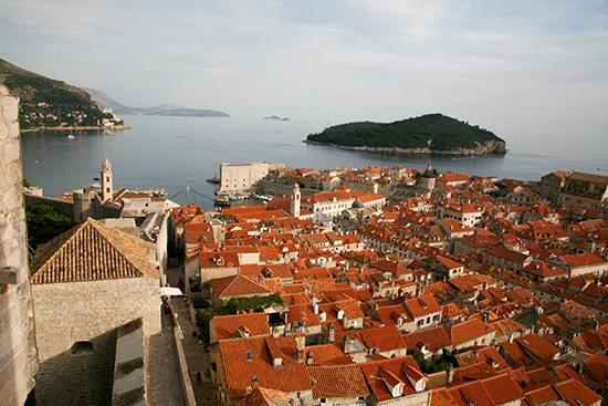 Blick-Stadtmauer