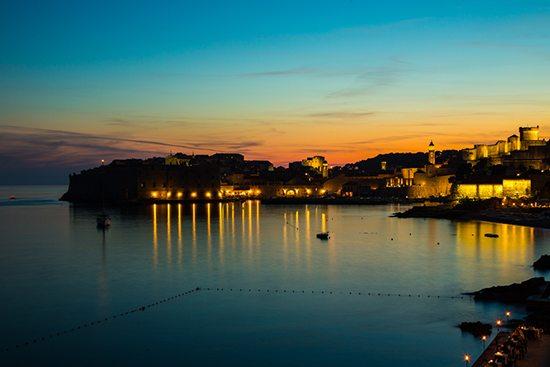Dubrovnik-bei-Nacht