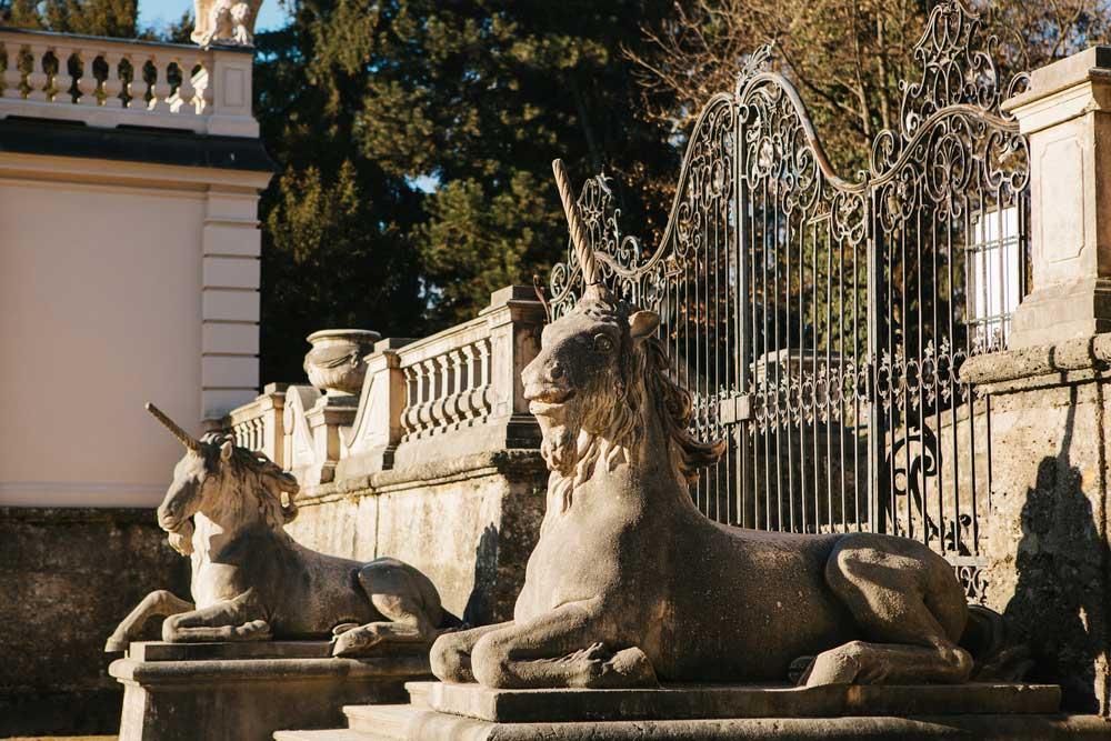 Eingang zum Mirabellgarten