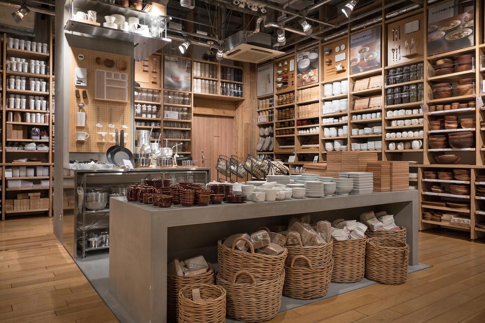 Muji Store Japan innen