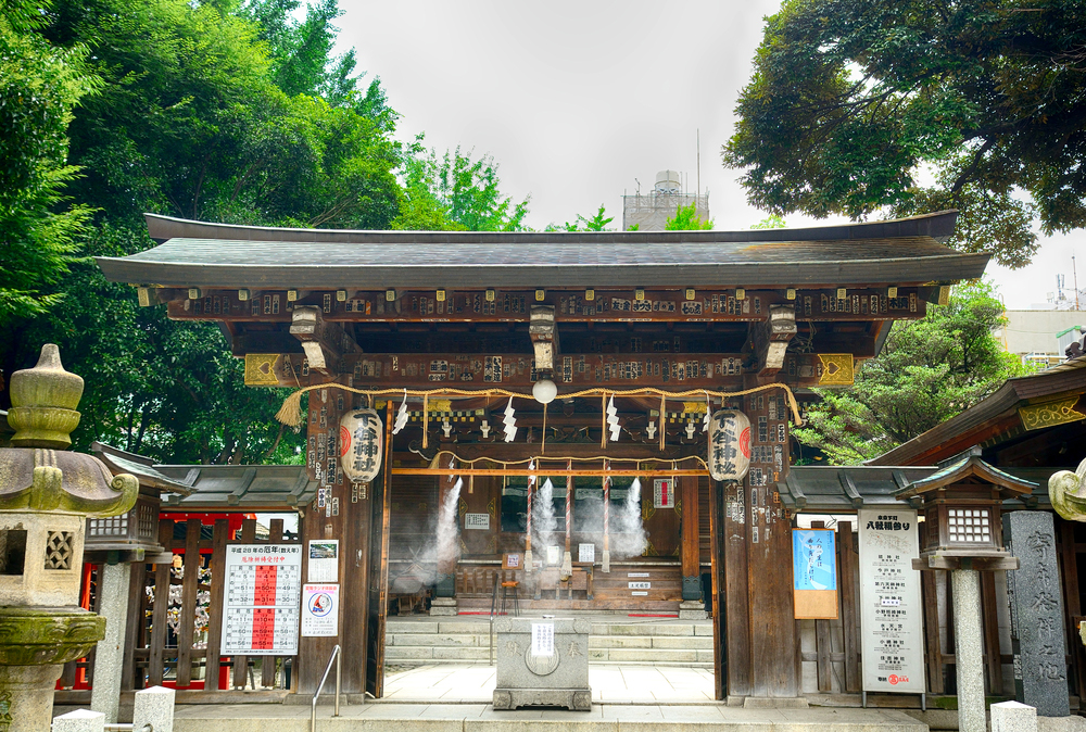 Shinto-Schrein in Tokio