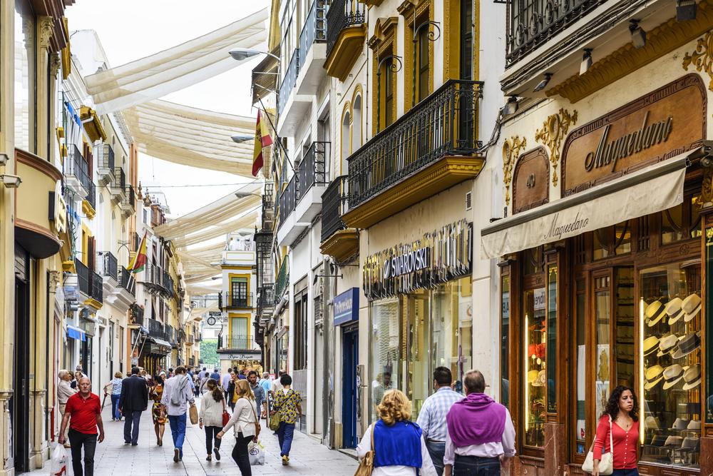Shoppingmeile Calle Sierpes