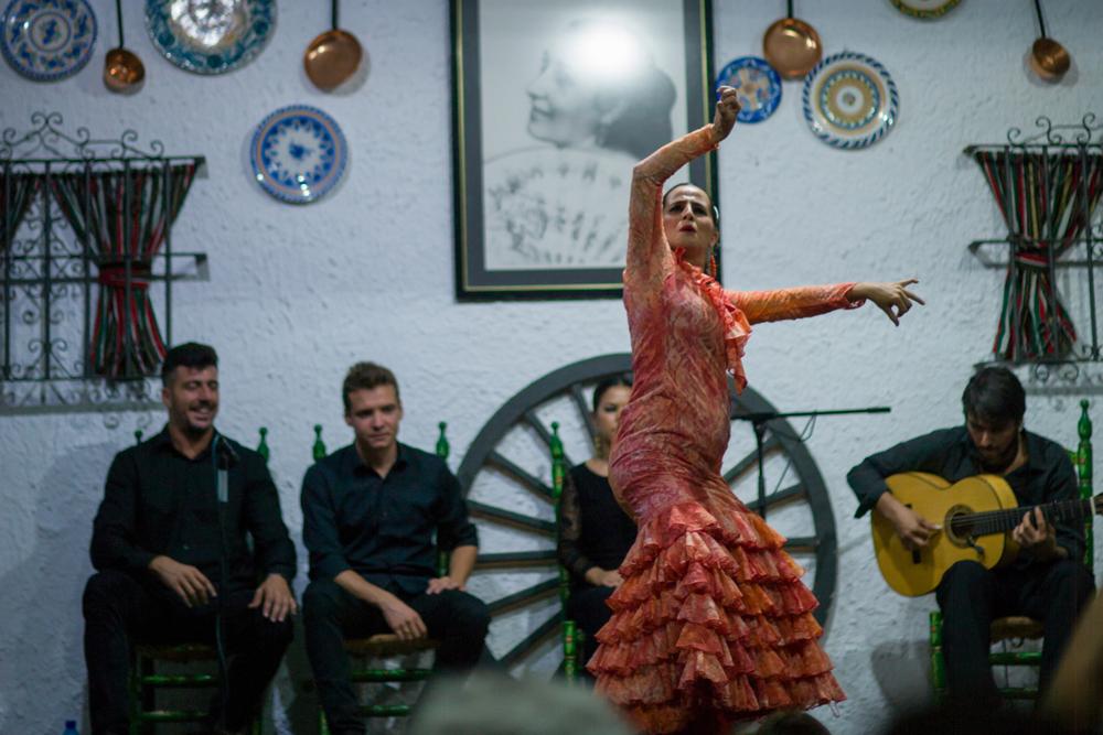 Flamenco-Vorführung in Sevilla