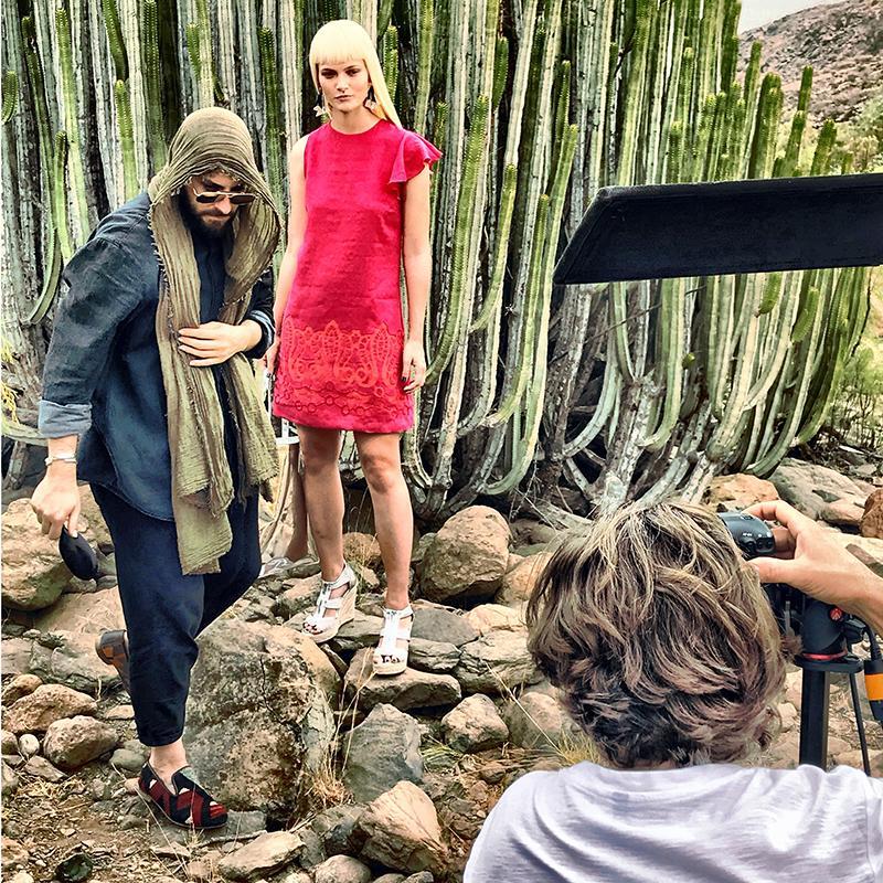 Making Of Sommerkampagne Ana Alcazar