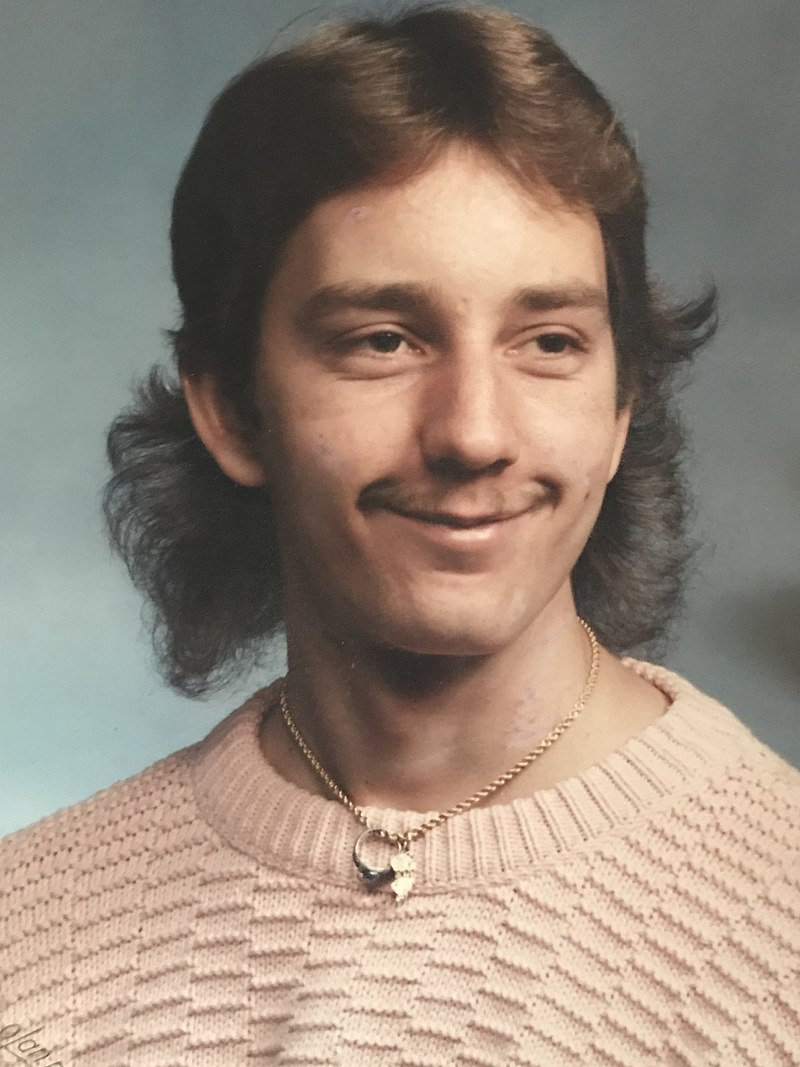 Vokuhila-Frisur 80er