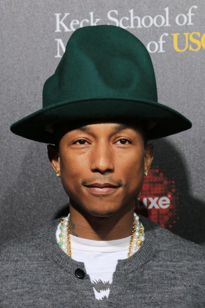 Pharrell Williams mit Hut