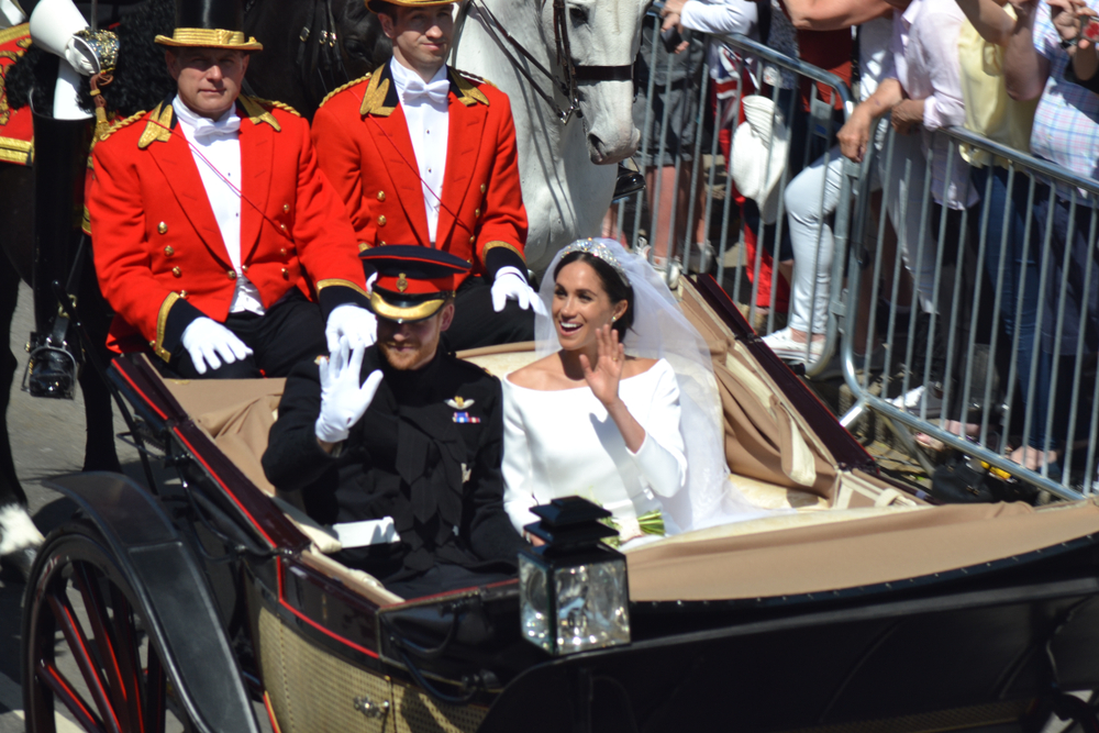 Meghan & Harry bei ihrer Hochzeit im Mai 2018