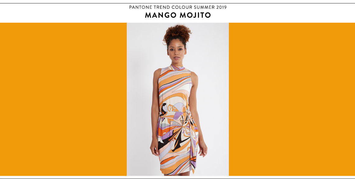 Pantone Farbtrend Sommer 2019 Mango Mojito bei Ana Alcazar