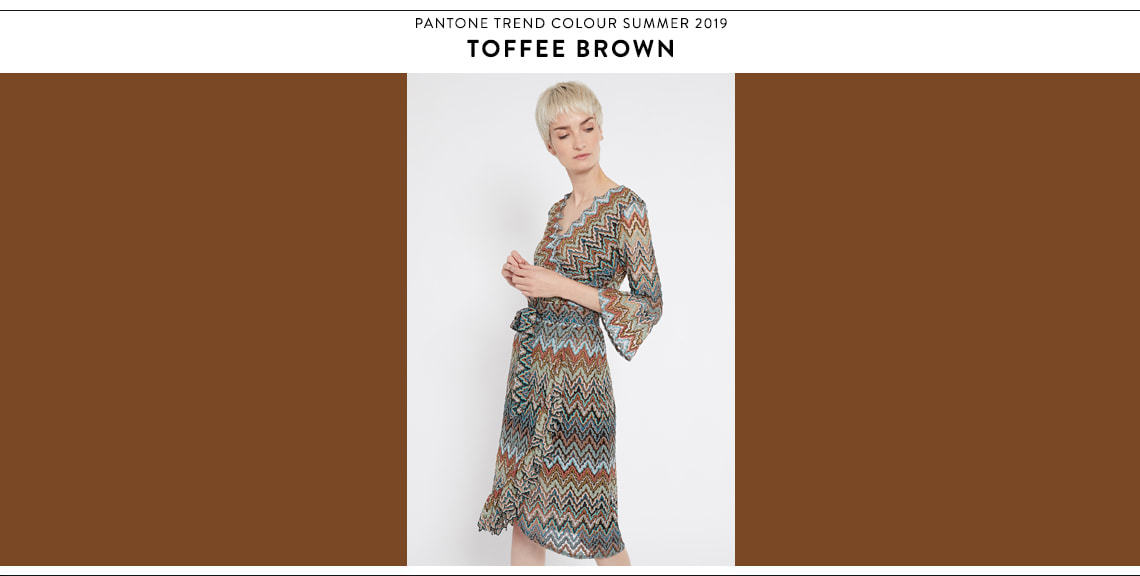Pantone Farbtrend Sommer 2019 Toffee Brown bei Ana Alcazar