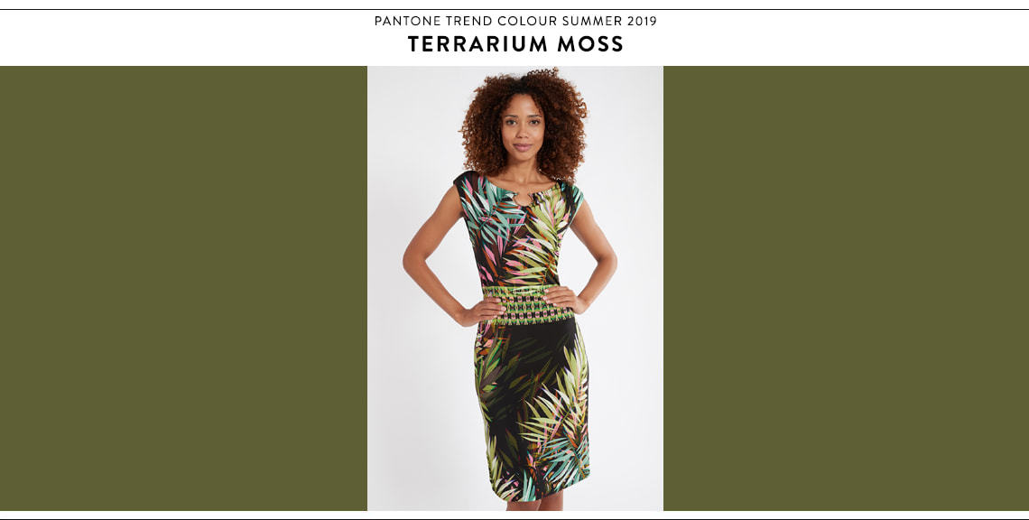 Pantone Farbtrend Sommer 2019 Terrarium Moss bei Ana Alcazar