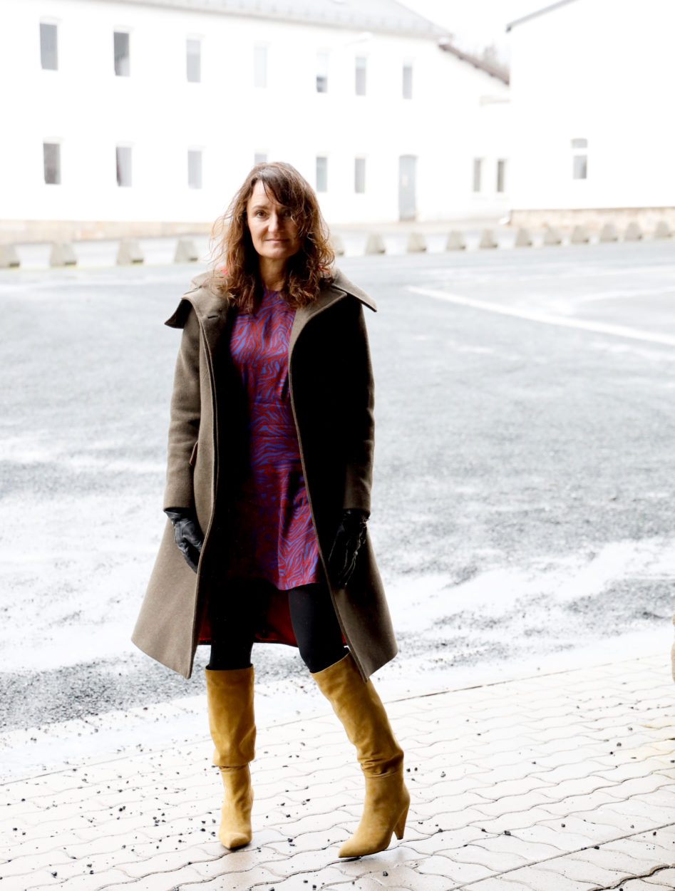 Bloggerin Christine in Slouchy Boots