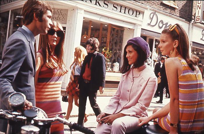 Frauen in den 60er Jahren in London