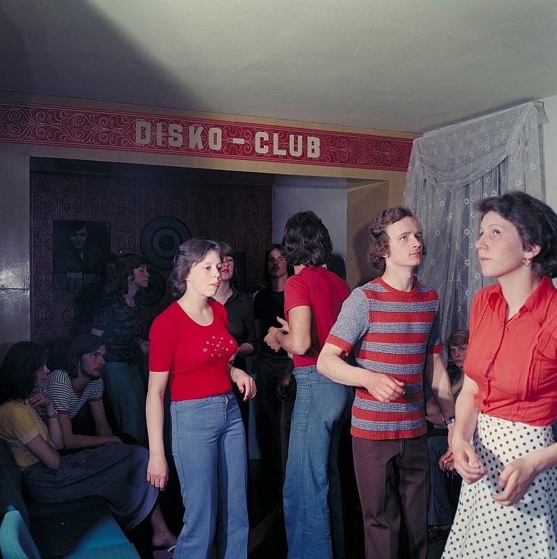Hausparty in Deutschland in den 1970er Jahren