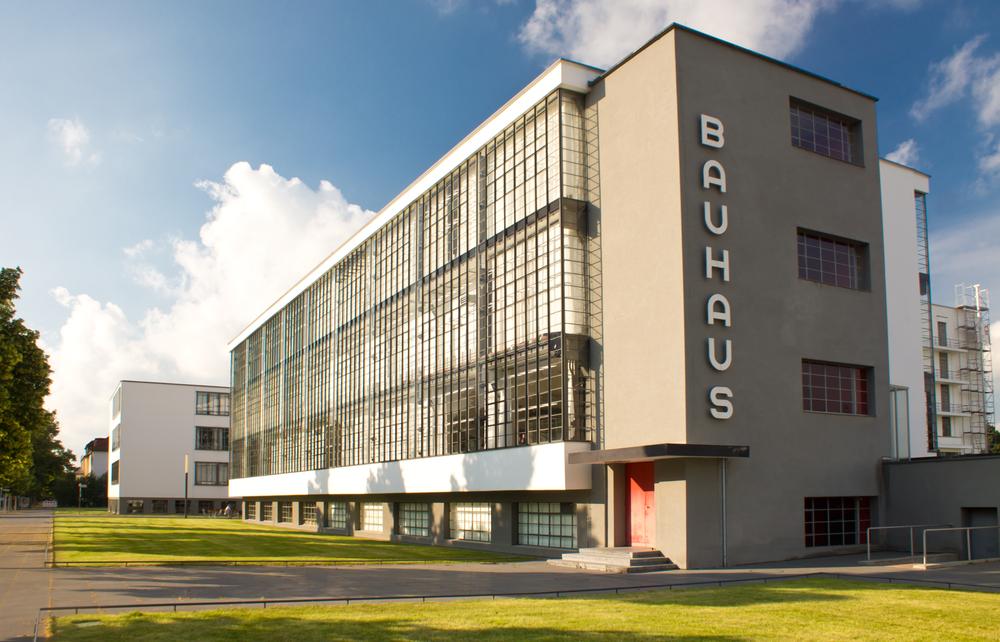 Bauhaus-Bau von Walther Gropius in Dessau