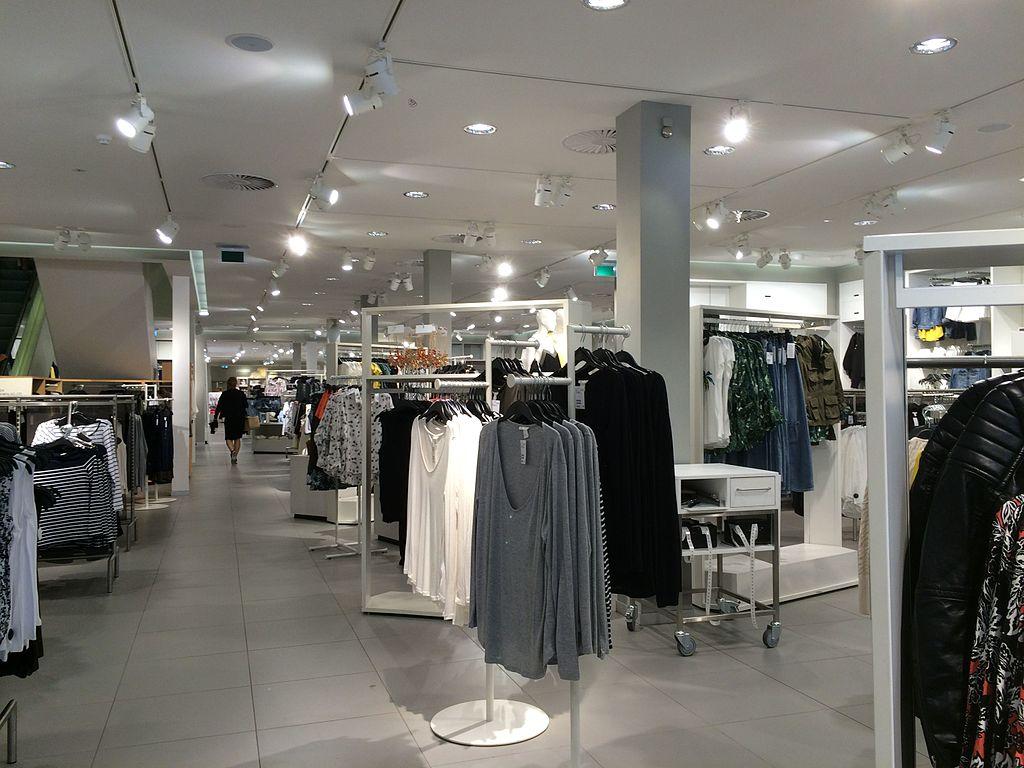 Innere eines H&M-Stores