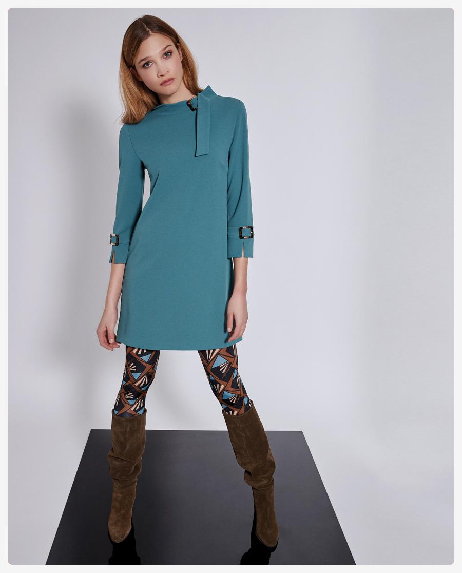 Herbstmode 2021: Sixties Kleider & Printleggings