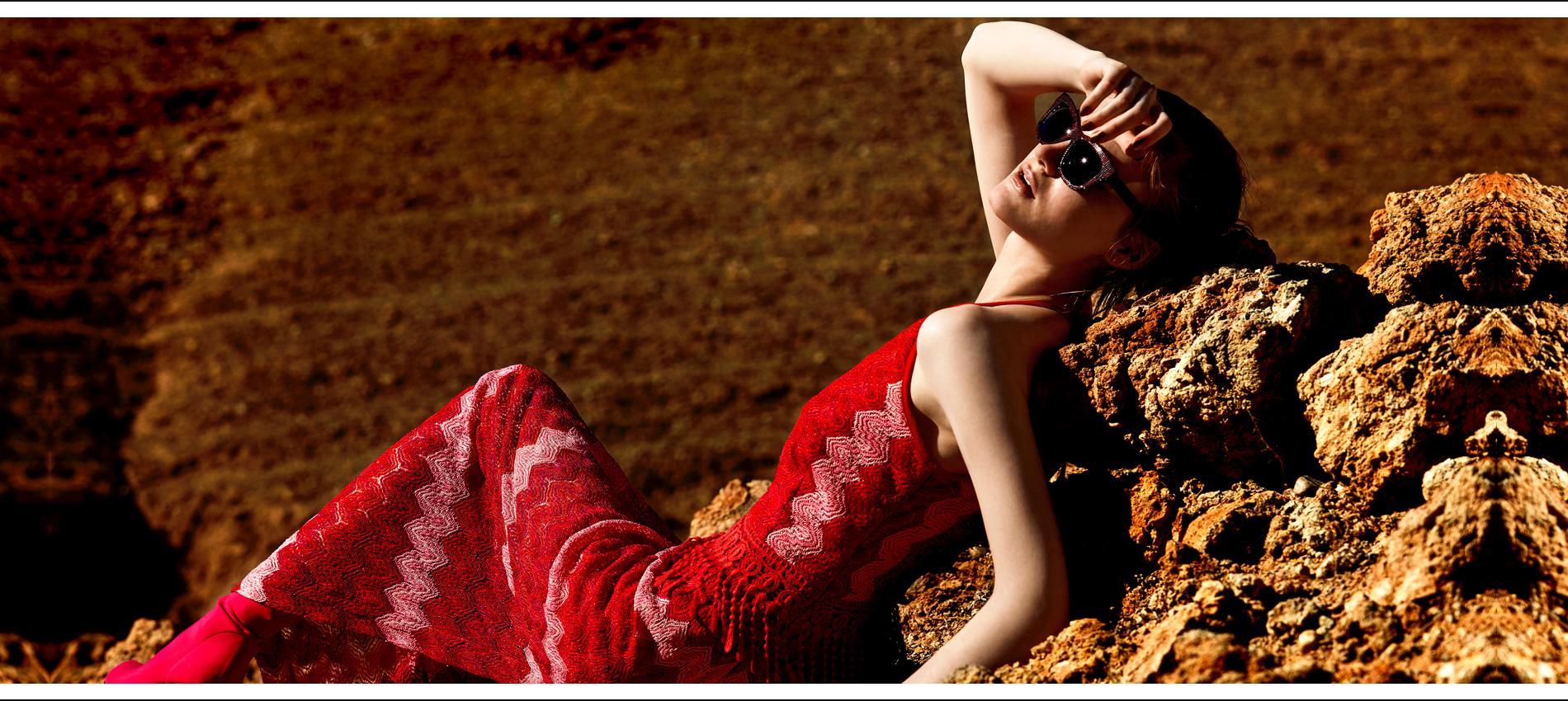 Lange Sommerkleider bei Ana Alcazar
