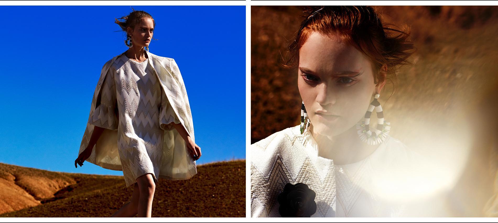 Weißes Sommerkleider bei Ana Alcazar