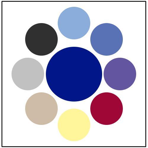 Farbpaletten Blau: Blaue Kleider Versandkostenfrei Bei