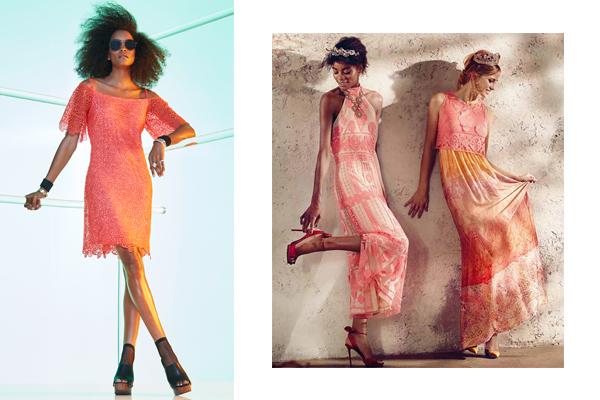 Auswahl an Rosa Kleidern bei Ana Alcazar