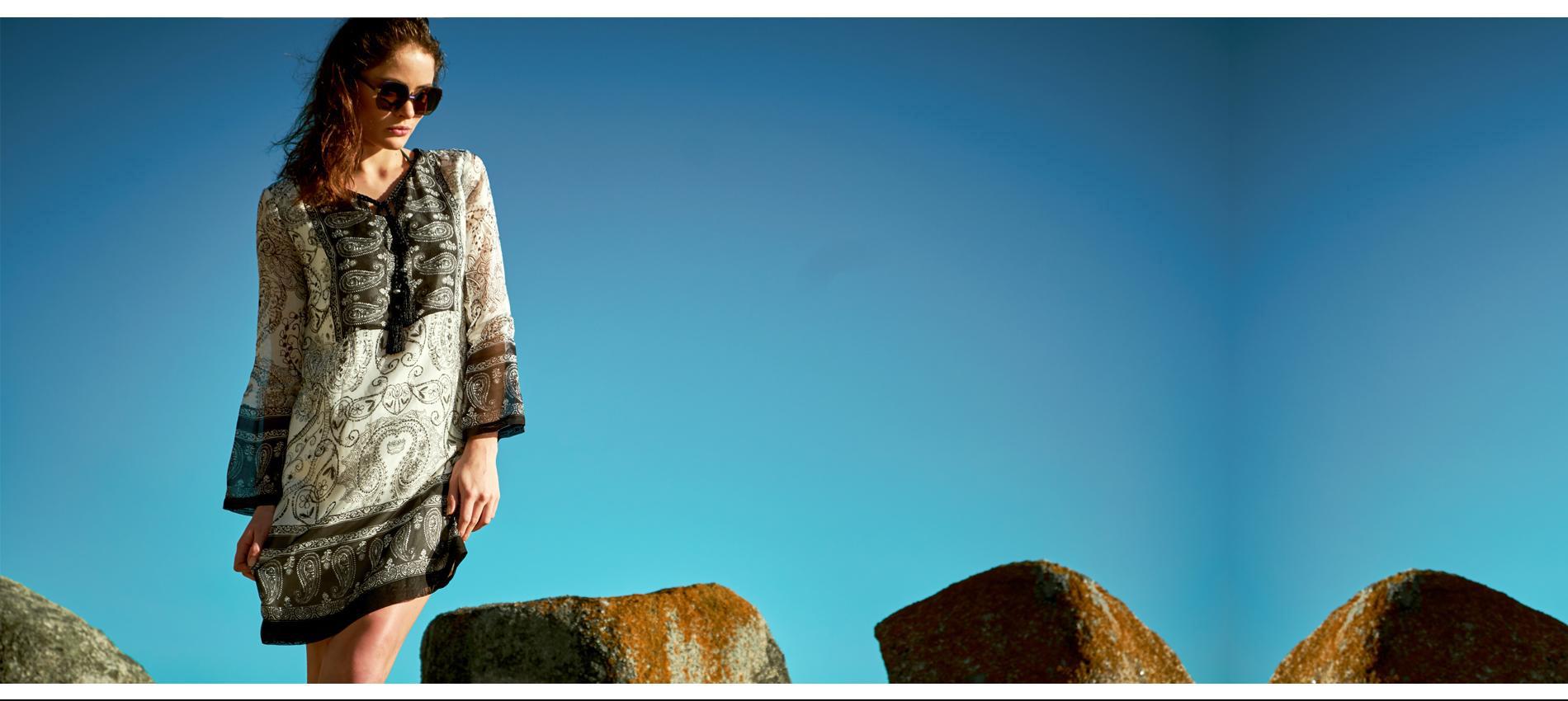Seidenkleider bei Ana Alcazar