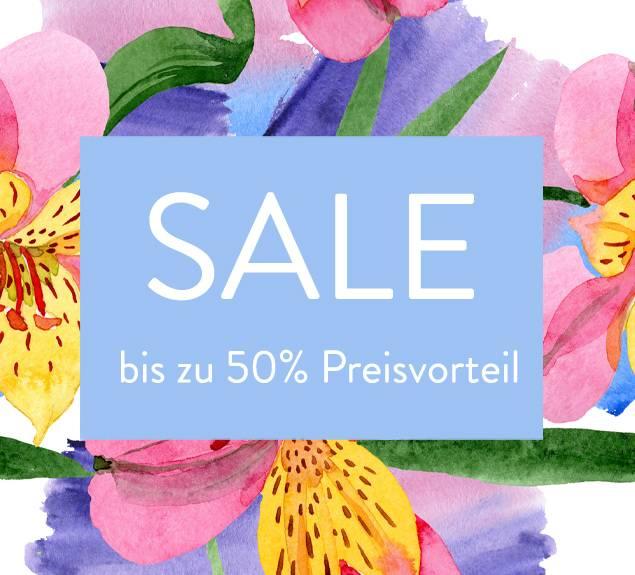 Sommer Sale mit bis zu 50% Preisvorteil