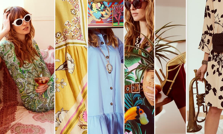 Pantone kleurentrends zomer 2021 groen blauw roze geel oranje door Ana Alcazar