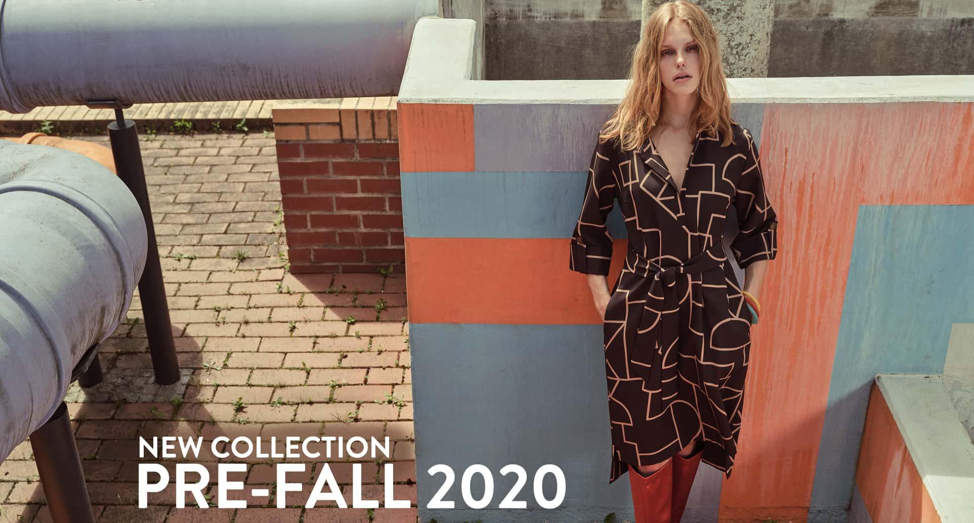 Model wears Etuidress in Brown-Beige