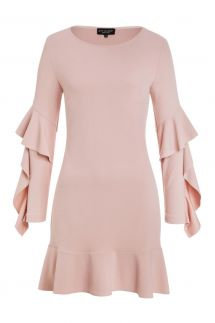 Ana Alcazar Volant Dress Korona Rose