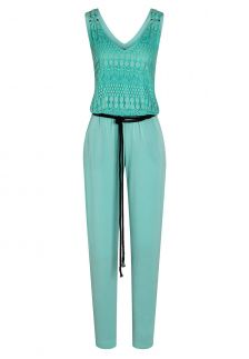 Ana Alcazar Cotton-Mix Jumpsuit Zefil