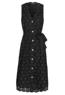 Ana Alcazar Sleeveless Dress Zeky Black