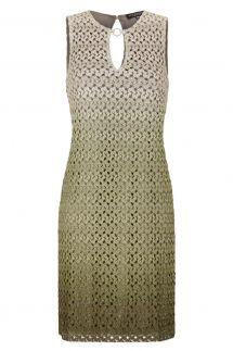 Ana Alcazar A-Shaped Dress Green Fanny