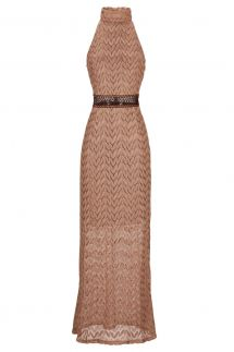 ana alcazar Crochet Maxi Dress Anjuba