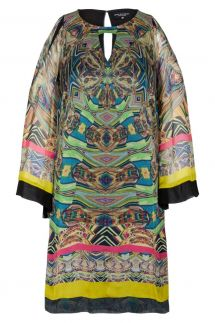 Ana Alcazar Silk Tunic Dress Fortiny