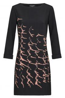 Ana Alcazar A-Shaped Dress Kea Rose